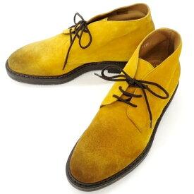 【新品】デュカルス DOUCALS ブーツ マスタード【サイズ40】【YEL】【A/W】【状態ランクN】【メンズ】【11103-955930】[2110EPD]