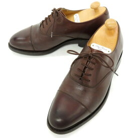 【中古】ロイドフットウェア Lloyd Footwear カーフレザー 内羽根 ストレートチップ ドレスシューズ ブラウン【サイズ6 E】【BRW】【S/S/A/W】【状態ランクB】【メンズ】【11101-955925】