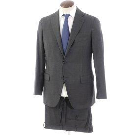 【中古】ベルベスト Belvest ウール 3つボタンスーツ グレー【サイズ50】【GRY】【A/W】【状態ランクB】【メンズ】【10402-955823】[2103BPD]