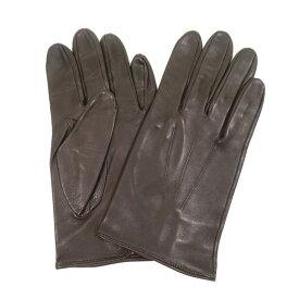 【中古】デンツ DENTS ヘアシープ レザーグローブ 手袋 ダークブラウン【サイズ−】【BRW】【A/W】【状態ランクB】【メンズ】【19908-955824】[2103BPD]