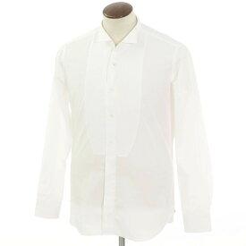 【新品】バグッタ Bagutta コットン ウィングカラー ドレスシャツ ホワイト【サイズ41】【WHT】【S/S/A/W】【状態ランクN】【メンズ】【10601-955803】[2102APD]
