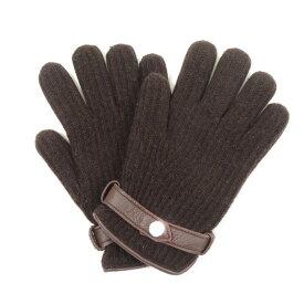 【中古】メローラ MEROLA カシミア グローブ 手袋 ブラウン【サイズ7 1/2】【BRW】【A/W】【状態ランクB】【メンズ】【19908-955786】[2103APD]