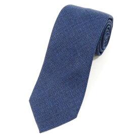 【新品】ステファノ ビジ stefano bigi ウール 3つ折り ネクタイ ネイビー×ブルー【NVY】【A/W】【状態ランクN】【メンズ】【11004-955735】