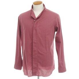 【新品】バグッタ Bagutta コットンツイル カジュアルシャツ オールドローズ【サイズ40】【RED】【S/S/A/W】【状態ランクN】【メンズ】【10602-955731】