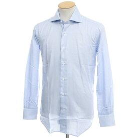 【新品アウトレット】オリアン ORIAN コットン ワイドカラー ドレスシャツ サックス【サイズ37】【BLU】【S/S/A/W】【状態ランクN-】【メンズ】【10601-955672】