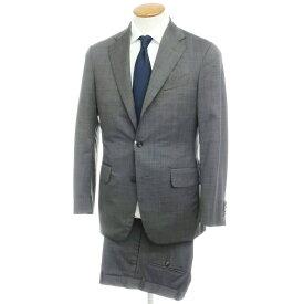 【中古】ボリオリ BOGLIOLI ウール 3B スーツ ダークグレー【サイズ46 drop6】【GRY】【S/S】【状態ランクC】【メンズ】【10402-955667】[2109APD]