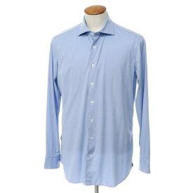 【中古】ラルディーニ LARDINI ナイロンポリウレタンジャージー ワイドカラーシャツ ライトブルー【サイズM】【BLU】【S/S/A/W】【状態ランクB】【メンズ】【10601-955664】