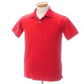 【中古】イセタンメンズ ISETAN MENS コットン鹿の子 半袖ポロシャツ レッド【サイズM】【RED】【S/S】【状態ランクC】【メンズ】【10703-955655】[2109APD]