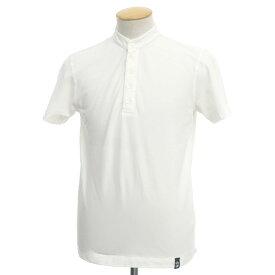 【中古】ドルモア Drumohr コットン ヘンリーネック 半袖Tシャツ ホワイト【サイズS】【WHT】【S/S】【状態ランクB】【メンズ】【10702-955552】
