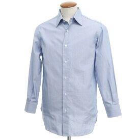 【中古】スティレ ラティーノ STILE LATINO コットン ストライプ レギュラーカラー ドレスシャツ ブルー【サイズ40】【BLU】【S/S/A/W】【状態ランクA】【メンズ】【10601-955552】