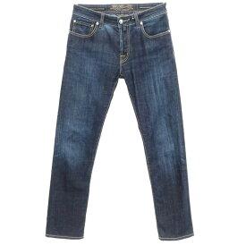 【中古】ヤコブコーエン JACOB COHEN 688 ストレッチ デニムパンツ ジーンズ ネイビー【サイズ31】【NVY】【S/S/A/W】【状態ランクC】【メンズ】【10903-955545】