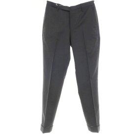 【中古】ヴィガーノ VIGANO ウール スラックス パンツ ブラック【サイズ44】【BLK】【A/W】【状態ランクC】【メンズ】【10901-955524】