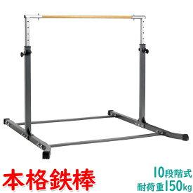 【エントリーでP10倍】 本格派 鉄棒 室内 子供 大人 組み立て式 強靭 耐荷重150kg KK-TRT5