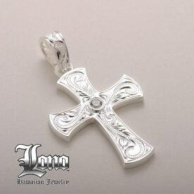 Silver925ハワイアンジュエリーLONO Iron Warrior Cross(ロノ アイアンウォリアークロス)Sサイズ ペンダントヘッド【送料無料】【楽ギフ_包装】