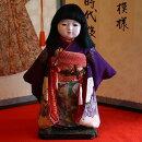 【送料無料!】【松乾斎東光】京製尺二市松人形(女)