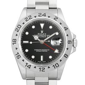 【48回払いまで無金利】ロレックス エクスプローラーII 16570 ブラック A番 メンズ(0063ROAU0535)【中古】【腕時計】【送料無料】