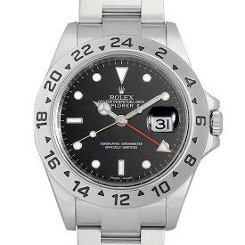 【48回払いまで無金利】ロレックス エクスプローラーII 16570 ブラック ランダムシリアル メンズ(06NPROAU0001)【中古】【腕時計】【送料無料】
