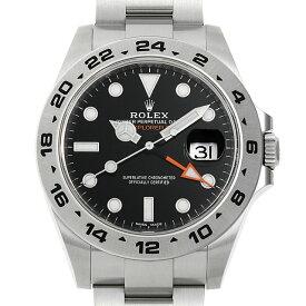 【48回払いまで無金利】ロレックス エクスプローラーII 216570 ブラック ランダムシリアル メンズ(0H7QROAU0006)【中古】【腕時計】【送料無料】