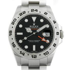 【48回払いまで無金利】ロレックス エクスプローラーII 216570 ブラック ランダムシリアル メンズ(0YRIROAU0001)【中古】【腕時計】【送料無料】