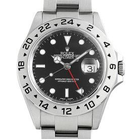 【48回払いまで無金利】ロレックス エクスプローラーII 16570 ブラック Y番 メンズ(0YROROAU0001)【中古】【腕時計】【送料無料】
