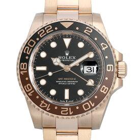 【60回払いまで無金利】ロレックス GMTマスターII 126715CHNR メンズ(0ZDXROAU0001)【中古】【腕時計】【送料無料】
