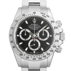 【60回払いまで無金利】ロレックス コスモグラフ デイトナ 116520 ブラック/新クラスプ ランダムシリアル メンズ(12GGROAU0001)【中古】【腕時計】【送料無料】