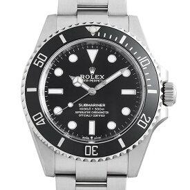 【60回払いまで無金利】ロレックス サブマリーナ ノンデイト 124060 メンズ(15J9ROAN0001)【新品】【腕時計】【送料無料】