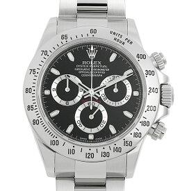 【60回払いまで無金利】ロレックス コスモグラフ デイトナ 116520 ブラック ランダムシリアル メンズ(1190ROAU0001)【中古】【腕時計】【送料無料】