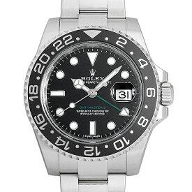 【60回払いまで無金利】ロレックス GMTマスターII 116710LN ランダムシリアル メンズ(0YL4ROAU0001)【中古】【腕時計】【送料無料】