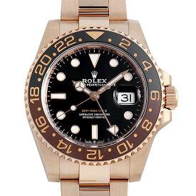 【60回払いまで無金利】ロレックス GMTマスターII 126715CHNR メンズ(1365ROAU0001)【中古】【腕時計】【送料無料】
