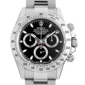 【60回払いまで無金利】ロレックス コスモグラフ デイトナ 116520 ブラック ランダムシリアル メンズ(002XROAU0026)【中古】【腕時計】【送料無料】