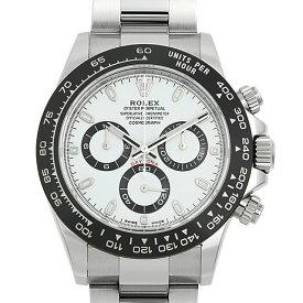 【60回払いまで無金利】ロレックス コスモグラフ デイトナ 116500LN ホワイト メンズ(002XROAU0027)【中古】【腕時計】【送料無料】