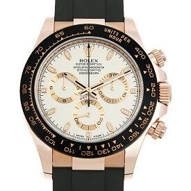 【60回払いまで無金利】ロレックス コスモグラフ デイトナ 116515LN アイボリー ランダムシリアル メンズ(0A89ROAU0241)【中古】【腕時計】【送料無料】