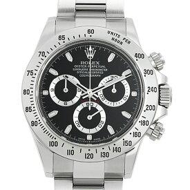 【60回払いまで無金利】ロレックス コスモグラフ デイトナ 116520 ブラック ランダムシリアル メンズ(12VDROAU0001)【中古】【腕時計】【送料無料】