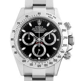 【60回払いまで無金利】ロレックス コスモグラフ デイトナ 116520 ブラック ランダムシリアル メンズ(0QRDROAU0001)【中古】【腕時計】【送料無料】