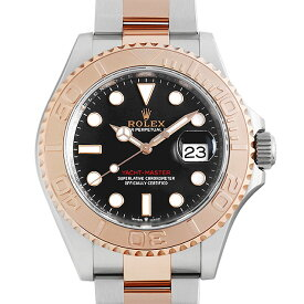 【60回払いまで無金利】ロレックス ヨットマスター 40 126621 ブラック メンズ(0YL4ROAU0005)【中古】【腕時計】【送料無料】