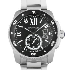 【60回払いまで無金利】カルティエ カリブル ドゥ カルティエ ダイバー W7100057 メンズ(007UCAAU0245)【中古】【腕時計】【送料無料】