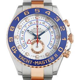 【60回払いまで無金利】ロレックス ヨットマスターII 116681 ランダムシリアル メンズ(10NZROAU0147)【中古】【腕時計】【送料無料】