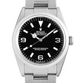 【60回払いまで無金利】ロレックス エクスプローラーI 114270 V番 メンズ(10HQROAU0002)【中古】【腕時計】【送料無料】