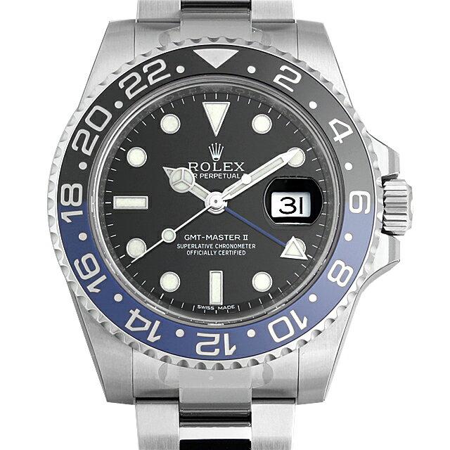 ロレックス GMTマスターII 116710BLNR メンズ(07WDROAN0024)【新品】【腕時計】【送料無料】