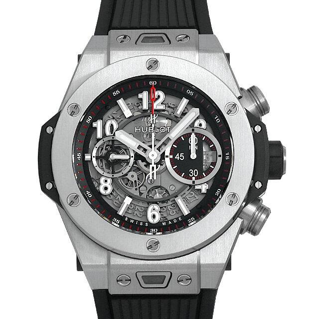 【48回払いまで無金利】ウブロ ビッグバン ウニコ チタニウム 411.NX.1170.RX メンズ(009FHBAN0118)【新品】【腕時計】【送料無料】【5000円オフクーポン配布中】