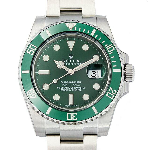 【48回払いまで無金利】ロレックス サブマリーナ デイト 116610LV グリーン メンズ(0JDJROAN0001)【新品】【腕時計】【送料無料】