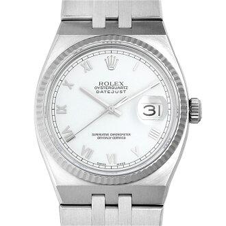 Rolex oysterquartz Datejust N # 17014 White / Roman men (0087ROAU0036)