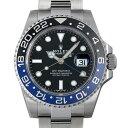 ロレックス GMTマスターII 116710BLNR メンズ(0BDEROAS0001)【中古】【未使用】【腕時計】【送料無料】