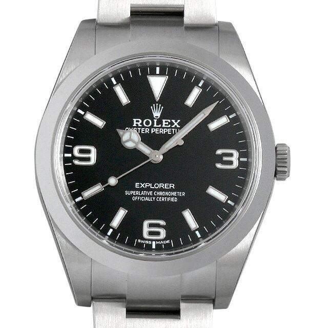 【48回払いまで無金利】ロレックス エクスプローラー 214270 最新型 メンズ(0MLNROAS0001)【未使用】【腕時計】【送料無料】