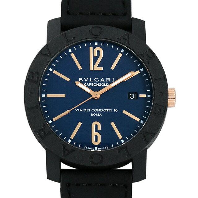 【48回払いまで無金利】ブルガリ ブルガリブルガリ カーボンゴールド BBP40C3CGLD メンズ(0068BVAN0020)【新品】【腕時計】【送料無料】