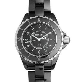 【最大3万円クーポン&ポイント2倍】シャネル J12 黒セラミック H0682 レディース(0064CHAN0255)【新品】【腕時計】【送料無料】【60回払いまで無金利】