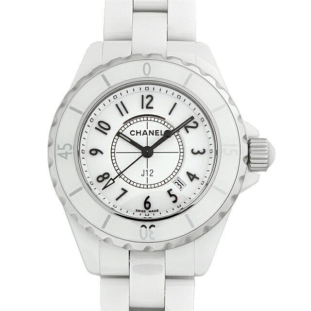 【48回払いまで無金利】シャネル J12 白セラミック H0968 レディース(0671CHAN0425)【新品】【腕時計】【送料無料】