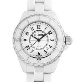 【48回払いまで無金利】シャネル J12 白セラミック H0968 レディース(006MCHAN0133)【新品】【腕時計】【送料無料】