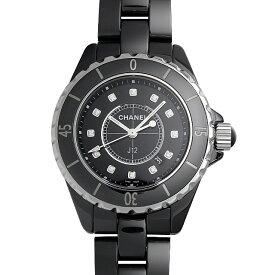 【48回払いまで無金利】シャネル J12 黒セラミック H1625 レディース(0064CHAN0147)【新品】【腕時計】【送料無料】